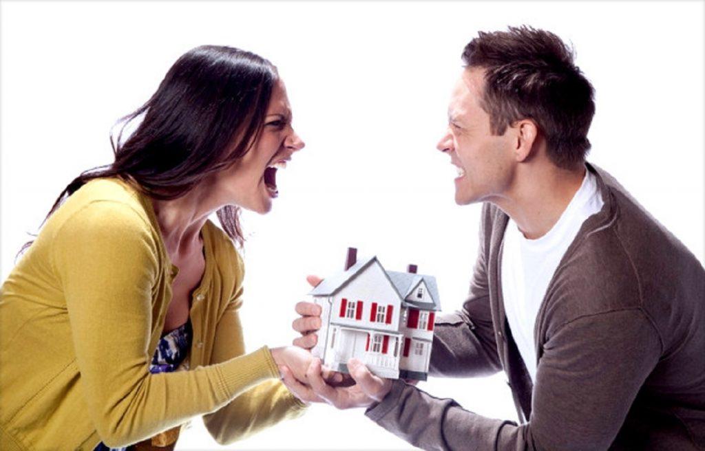 как отсудить у мужа имущество